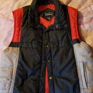 Vintage boys current seen puffer vest
